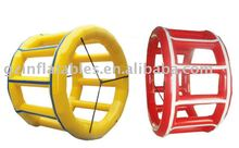 2011 {Qi Ling} inflatable wheel roller