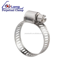 American Type Stainless Steel Gas Tube Pipe Hose Clamp
