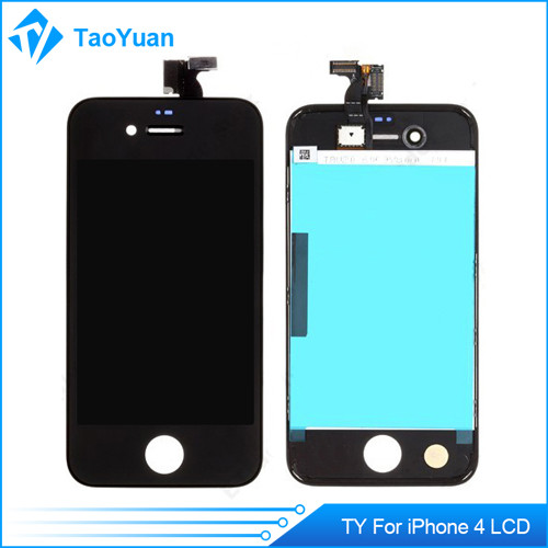Low price cell original phone lcd screen for apple iphone 4 lcd with digitizer assembly
