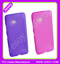 JESOY New Matte Tpu Case Soft Gel Skin Cover Cellphone Case For Microsoft Nokia Lumia 640
