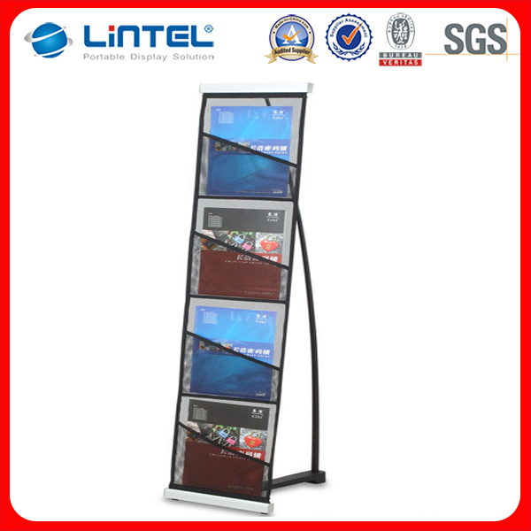 Exhibition catalogue holder for trade shows,events