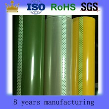 Silicone adhesive coated polyester film roll
