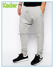 Drop crotch mens sweatpants wholesale harem sweat pants
