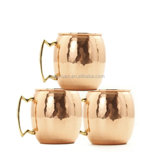 Hot Sale Wholesale custom moscow mule mug copper mug