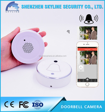 Wi-Fi 2.4G cloud storage and local storage wireless ip camera ring wifi doorbell camera