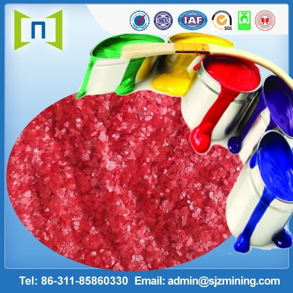 10 mesh red mica powder for paint