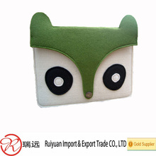 Lovely Design Portable Convenient Use Felt Laptop Sleeve For Ipad