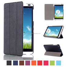 Slim Smart hot press Leather Case Cover Stand for Huawei Mediapad M1 8.0 inch Tablet PC Cover Case