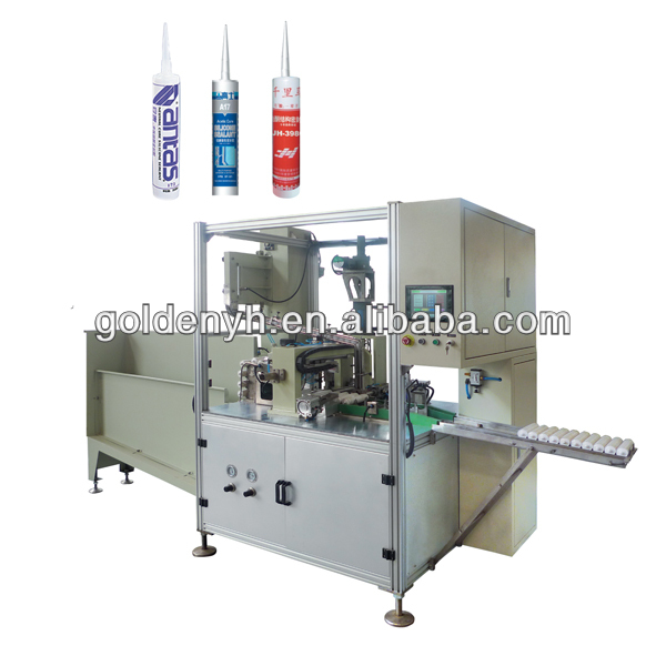 automatic cartridge sealant packing machine