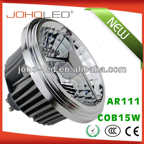 JOHO new private model COB15W G53 E27 GU10 ar 111 <strong>r111</strong> <strong>led</strong> <strong>lamp</strong>