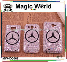 CAR BRAND RHINESTONE DECORATIVE MOBILE PHONE CASES