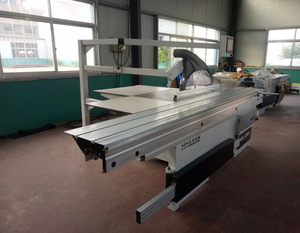 China woodworking machinery plywood cutting sliding table panel saw machines