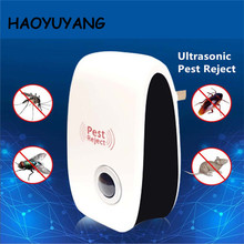 2018 US/EU/UK Plug Electronic Ultrasonic Rat Mouse Repellent Anti Mosquito Repeller Killer