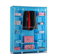 Home Furniture Non-Woven Folding Wardrobes,metal folding wardrobe/ikea fabric portable wardrobe closets