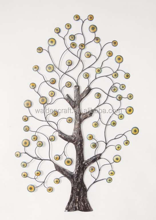 2015 Hot Sales China Wall Art Home Decor Metal Tree