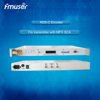 rds fm transmitter with TA MPX in RDS OUT for Fm Stereo Broadcast Transmitter Station System hchT06