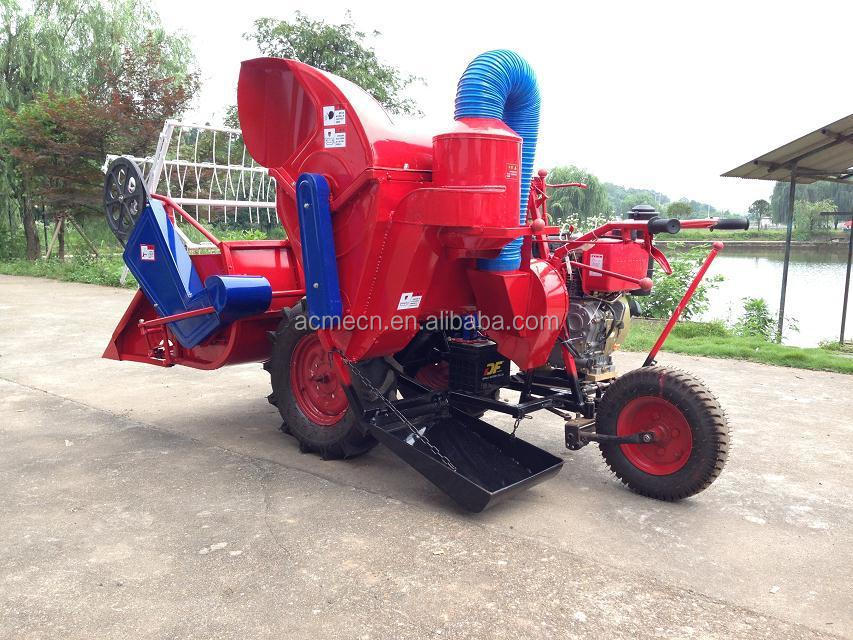 4LZ-0.6A rice wheat combine harvester 12