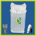 SGS approval protective shipping plastic 750 ML wine air bag column air packaging
