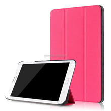 Triple folding PU flip leather case skin cover for Samsung Galaxy Tab J 7.0 T285