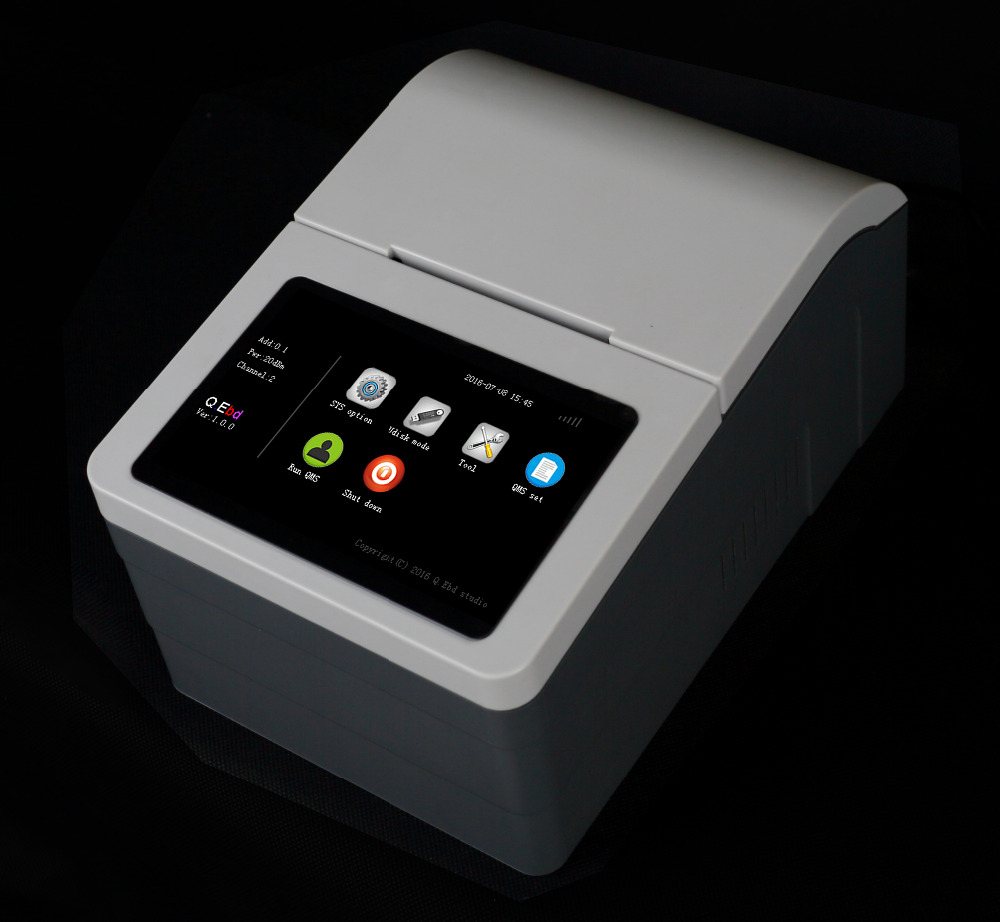 "5"" automatic touch screen embedded 80mm USB thermal receipt printer simple queue ticket dispenser machine"
