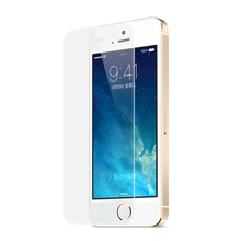 Factory Wholesale Mobile Phone Tempered Glass Screen Protector for iPhone 5/5s Glass Screen Protective Film