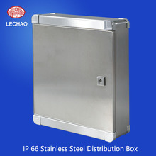 IP66 Outdoor Enclosure Stainless Steel Power Distribution Box