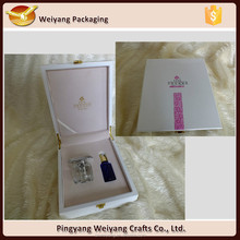 High quality MDF wooden cosmetic packaging boxes gift boxes for perfume bottle
