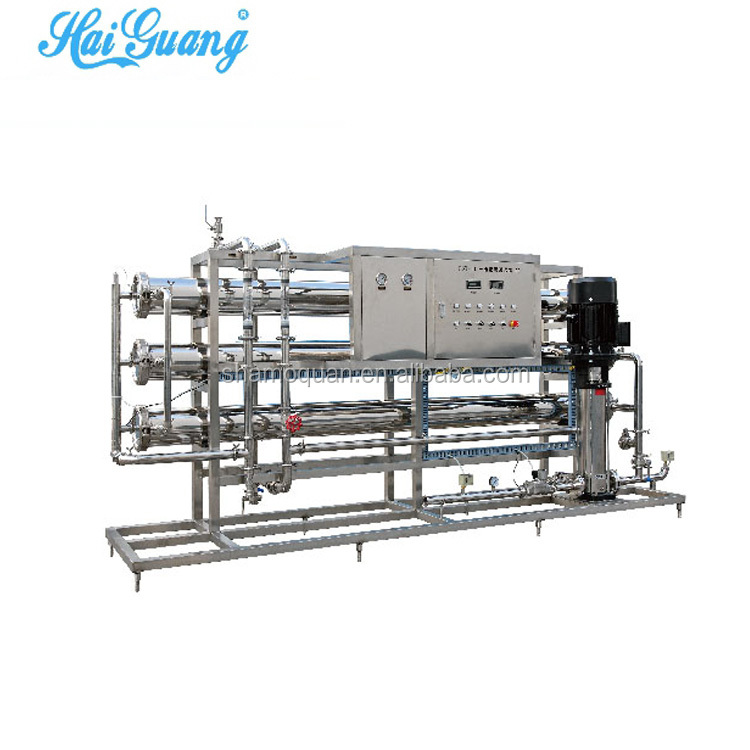 Membrane reverse osmosis water treatment battery water machine
