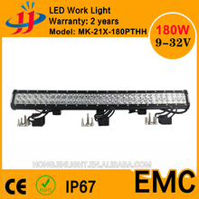 Super bright China wholesale 180w c-rees led light bar auto offroad led car light led working light bar suv car 4x4