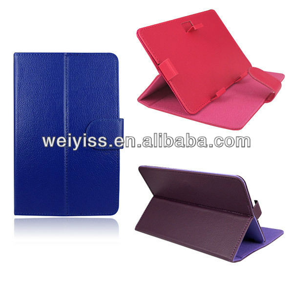 "New 7"" MID PU Leather Folio Cover Case Skin Stand For 7"" inch Android Tablet PC"