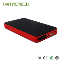 Car Member wholesale 12v mini emergency portable multi functional jump start booster of battery charger jump start