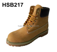 UK/US market popular high quality nubuck leather safety work boots name brand