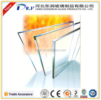 3mm 4mm 5mm 6mm borosilicate fire resistant glass Fire Proof Glass