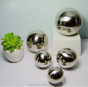 SS304 316 250mm 200mm 150mm large stainless steel hollow ball /metal sphere for decoration