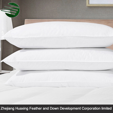 Super Soft 290T polyester Hotel Duck Feather And Down Pillow