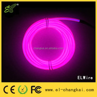 High Brightness EL Wire T-shirt Design