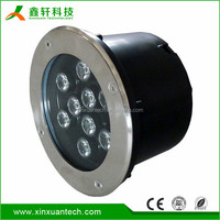 Stainless steel ingound IP67 waterproof 9w high quality CE ROHS EMC approved outdoor led recessed light