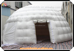 Commercial outdoor inflatable lawn dome tent,giant inflatable dome camping tent for sale