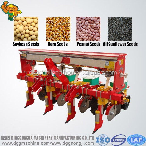 Agriculture machinery corn / soybean/peanut seed planting machine/ 3 rows planter