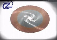 Widely used good grade ti-coated hss cutting saw blade circular for stainless steel