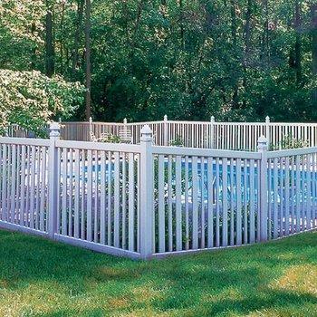 Plastic swimming pool fence in supermarket standard for Plexiglass pool fence