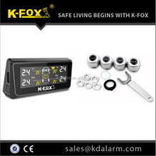 Tire pressure monitoring system Best quality TPMS with solar panel
