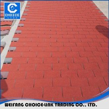 Good looing copper fiberglass asphalt roofing shingles