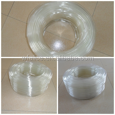 China Clear PVC Polymer Pipe