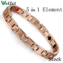 Titanium magnetic bracelet good for human healthy jewelry