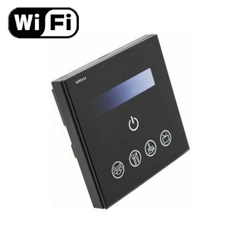 Wholesale Wifi Touch Dimmer for Android or IOS System AC90-240V Input 0-10V Output Max 220W Wifi Touch Pane LED Dimmer