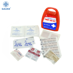 Promotional mini first aid kit for travelling, camping