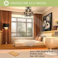waterproof wood polymer composite outdoor wpc decking floor