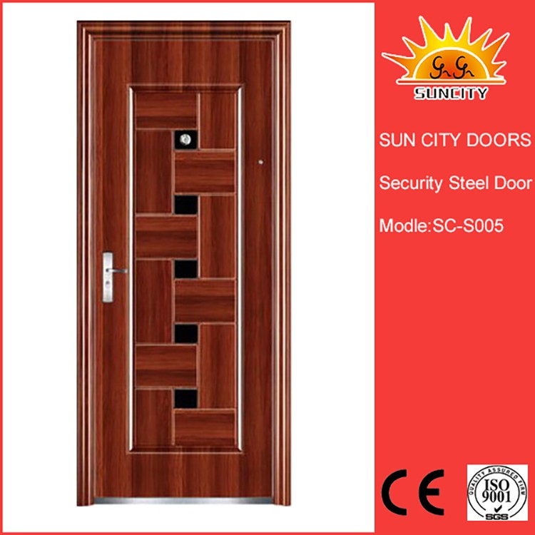 Trendy Design Reasonable Price Steel Entry Security Door
