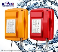 Public Address & General Alarm, KNSP-18 Waterproof Telephone IP66, LCD display, Page/Party, Multi-Site Systems